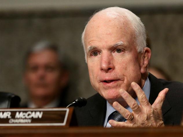 Трамп: США разучились побеждать из-за таких, как Маккейн