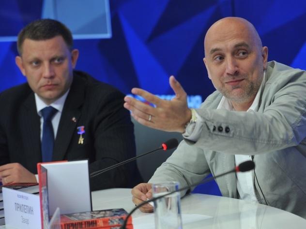 Захар Прилепин стал политруком своего батальона на Донбассе