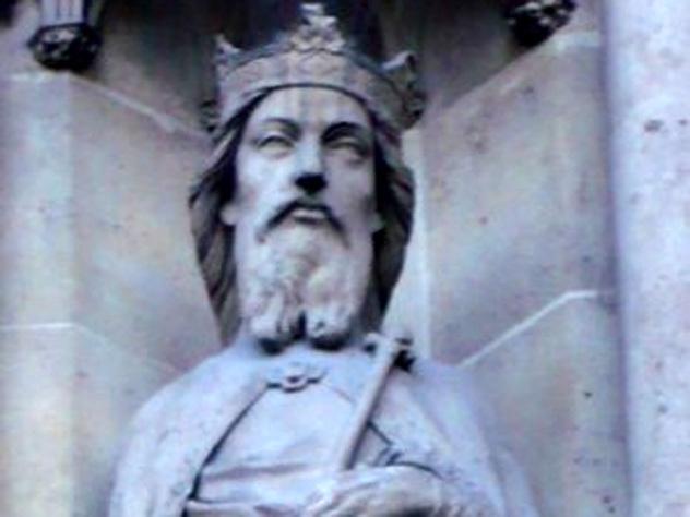 самый кровожадный католический святой деле добрый король гунтрамн