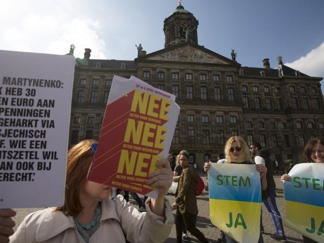 Парламент Нидерландов не посмел отменить соглашение с Украиной