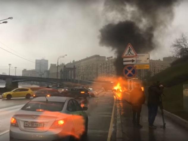 Сгоревший заживо водитель Maserati мог не справиться с управлением