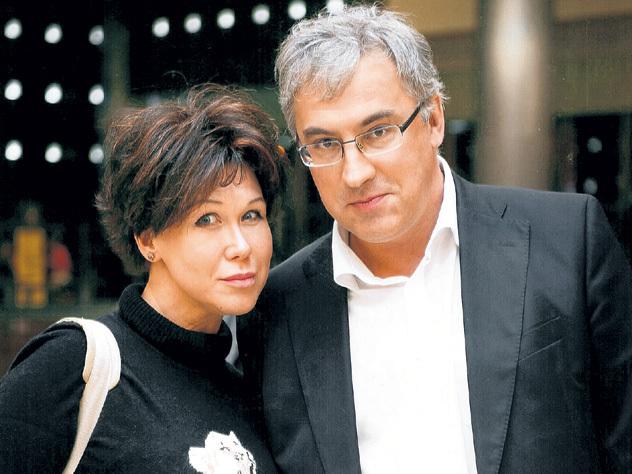 норкин андрей с женой фото