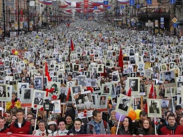 Жители Душанбе пройдут Бессмертным полком вопреки запрету властей