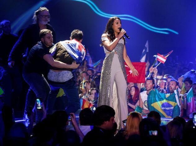 Снявшему штаны на сцене Евровидения украинцу грозит 5 лет тюрьмы
