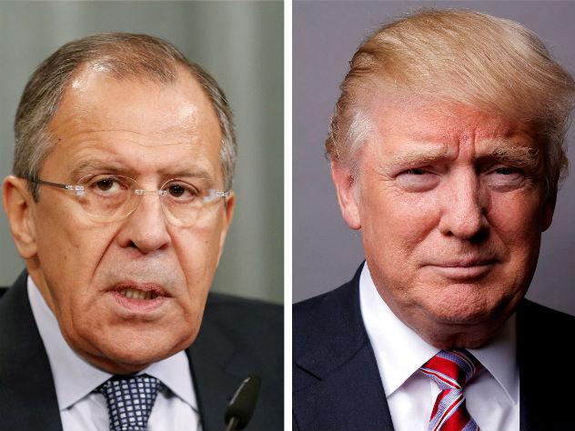 Белый дом: Трамп не передавал секретных данных Лаврову