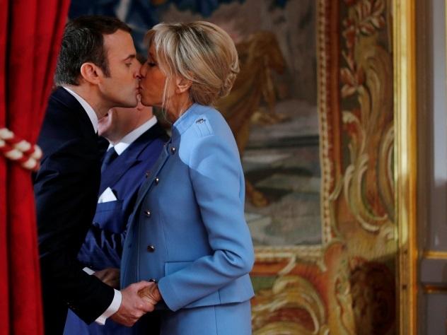 Берлускони высмеял престарелую жену Эммануэля Макрона