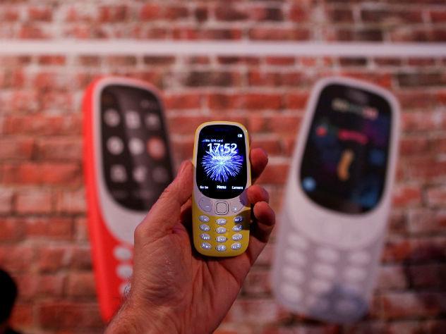В России начались продажи легендарной Nokia 3310