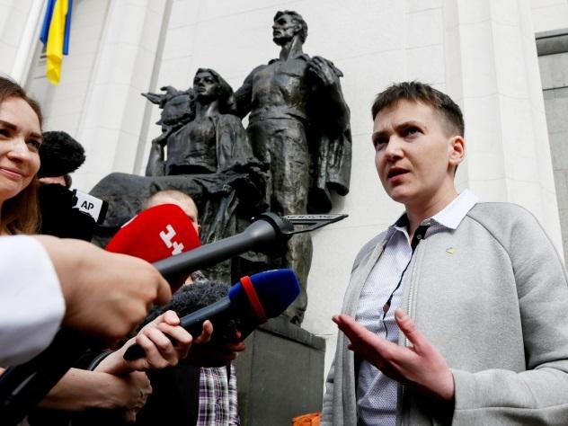 Савченко непустили нарабочее место в сооружение Верховной рады