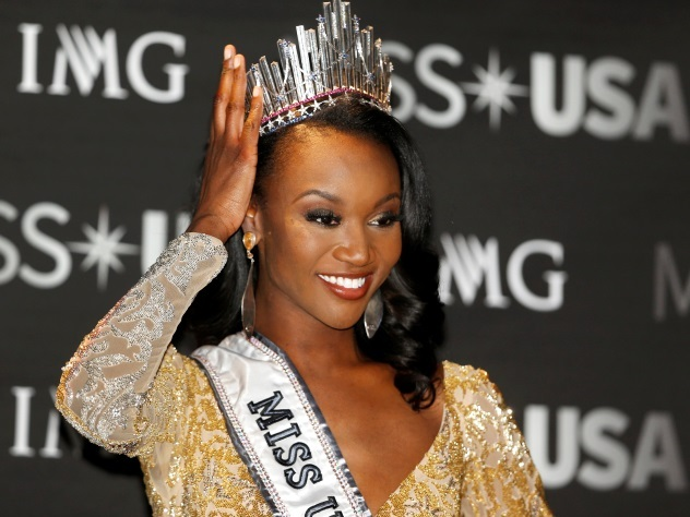 Титул «Мисс США» достался военнослужащей из Колумбии