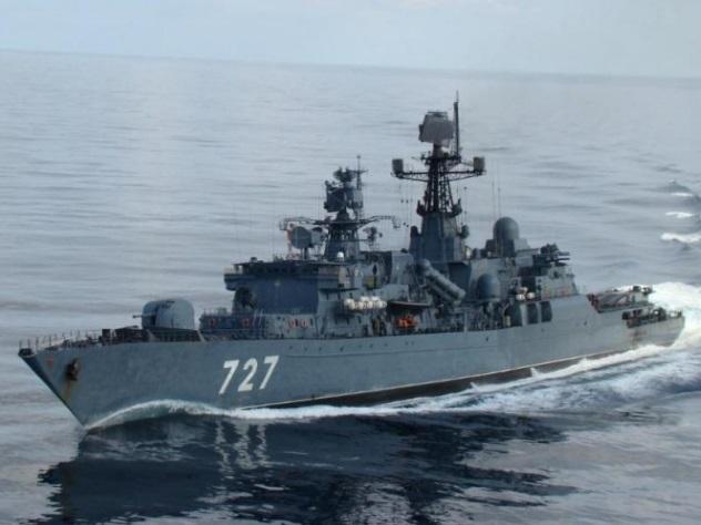 МинобороныРФ обвинило американских моряков внепрофессионализме