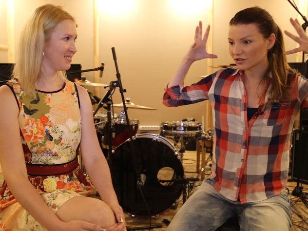 девушка поет машине эксклюзивное интервью виктории черенцовой