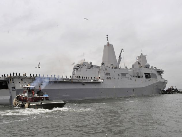 Адмирал Комоедов: предлог для захода кораблей ВМС США неважен, РФ сделает выводы