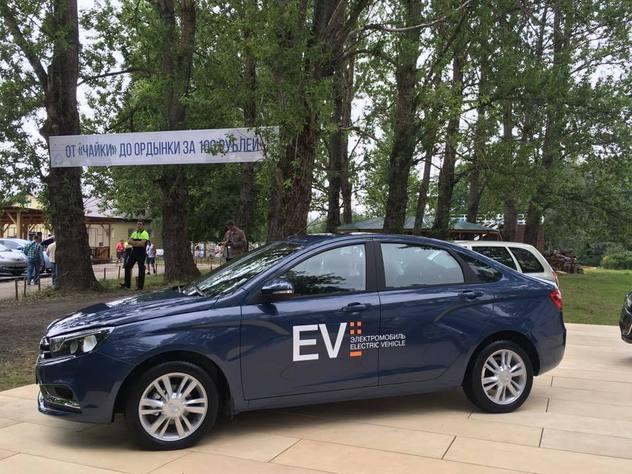 Электромобиль по-русски: опубликованы первые фото Lada Vesta EV