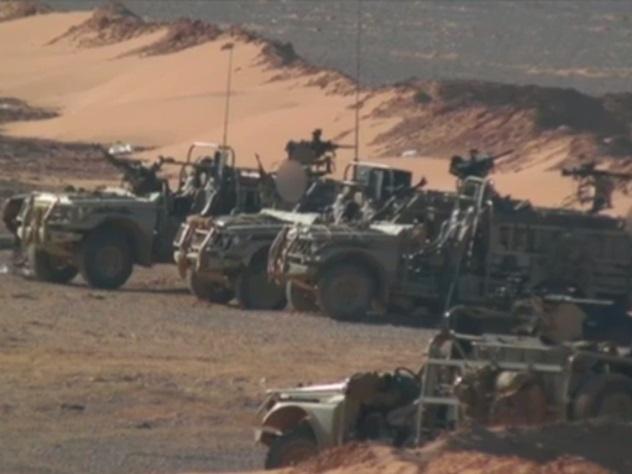 Появились первые фото английского спецназа вСирии