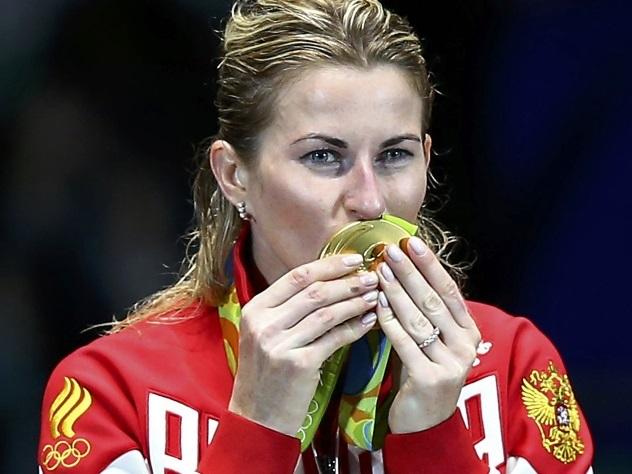 Рапиристка Инна Дериглазова принесла Российской Федерации 4-ое «золото» наОИ