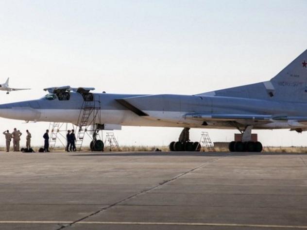 Россия разместила Ту-22М3 вИране для ударов потеррористам вСирии