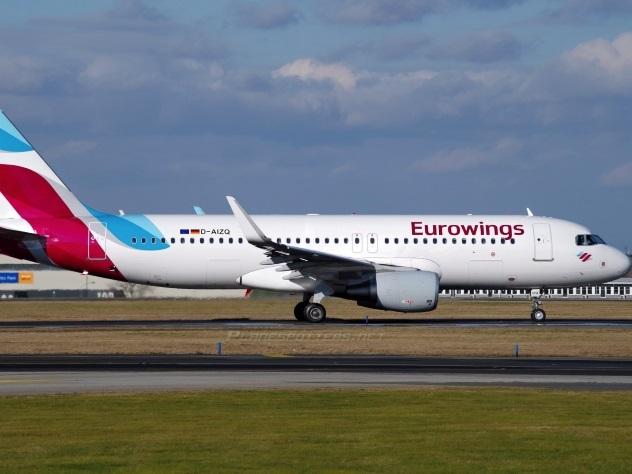 Германский лоукостер Eurowings прекратит полеты в РФ