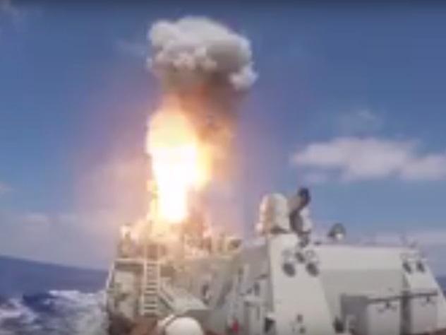Позиции террористов вСирии обстреляны ракетами «Калибр»