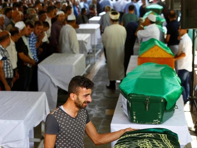 Число погибших взрыва натурецкой свадьбе перешло заполсотни