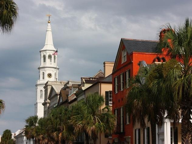 Американский Чарльстон обошел Флоренцию и Барселону в рейтинге лучших городов мира