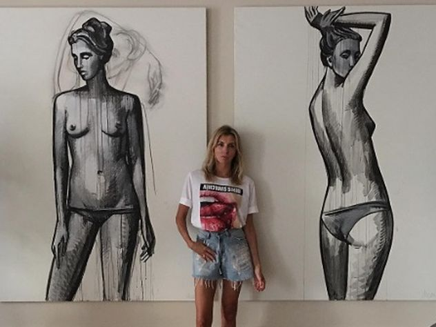 Экс-жена Федора Бондарчука показала себя без одежды