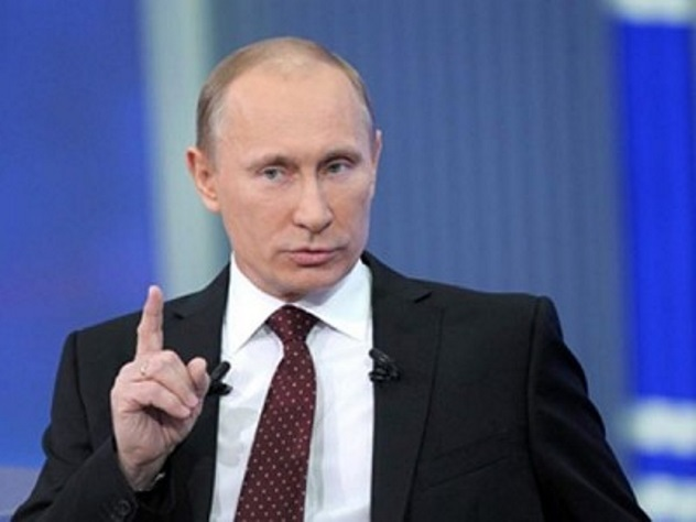 Путин представляет своего преемника молодым изрелым человеком