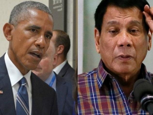 Политическое красноречие: президент Филиппин обозвал Барака Обаму