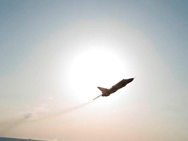 Русский истребитель совершил перехват самолёта-разведчика США