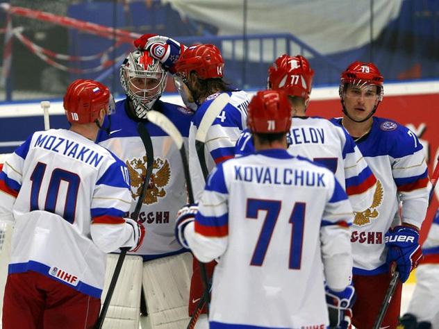Русская сборная одолела команду Северной Америки наКубке мира
