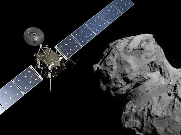 Розетта поцеловала комету на прощание и умерла