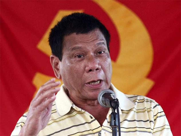 Президент Филиппин Дутерте сравнил себя сГитлером