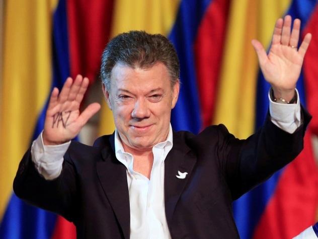 Нобелевской премии мира удостоен президент Колумбии