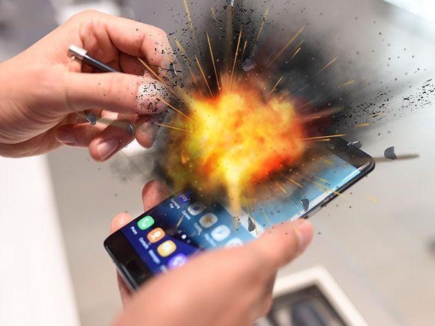 iPhone против Samsung: что чаще горело, взрывалось и дымилось