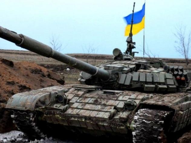 Танк украинских силовиков задавил вДонбассе двоих мирных граждан