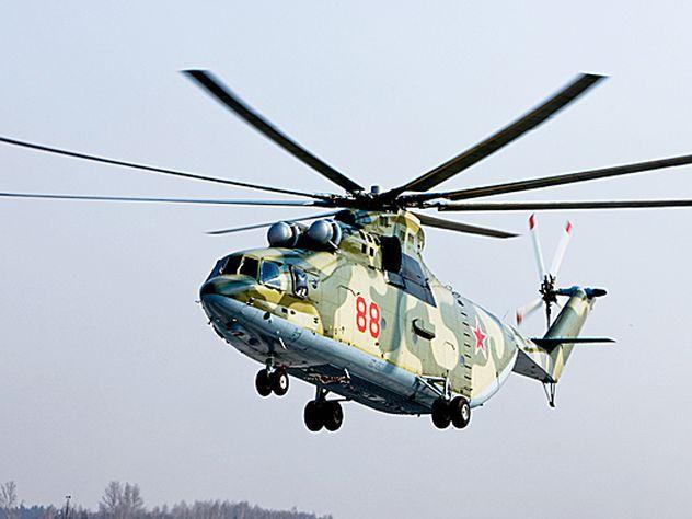 Авиационный полк вЛенобласти получил крупнейший вмире вертолет Ми-26