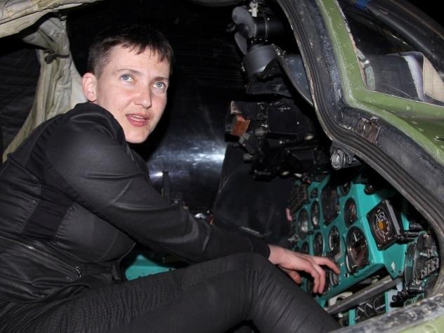 Надежда Савченко вновь посетила Донбасс и повстречалась сополченцами