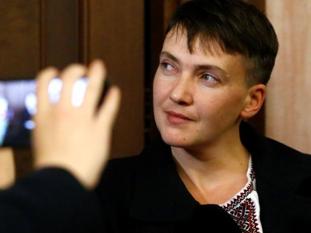Савченко на Российской Федерации посетила украинское посольство ипрошлась поКрасной площади