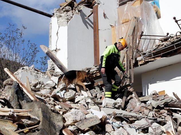ВИталии случилось очередное землетрясение