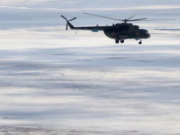Новосибирский вертолет упал на дом вСочи