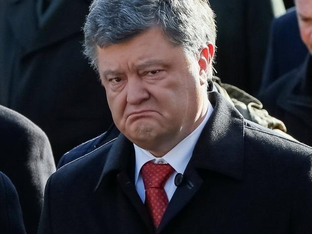 Порошенко сравнил Украину с псом на крючке