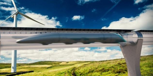 ВОАЭ появится первый вмире вакуумный поезд