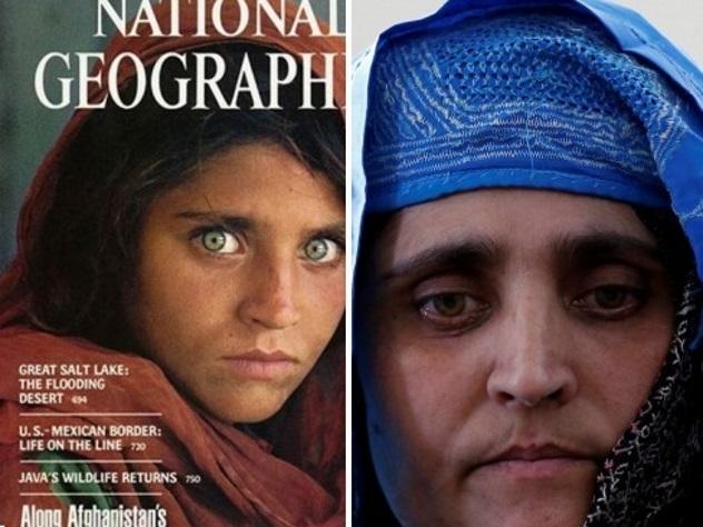 ВКабуле встретили депортированную изПакистана «Афганскую Мону Лизу»