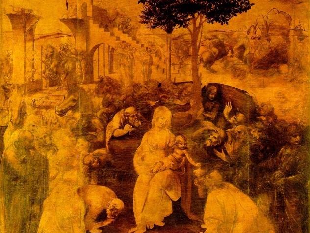 Новокузнецкий художник дописал картину Леонардо даВинчи