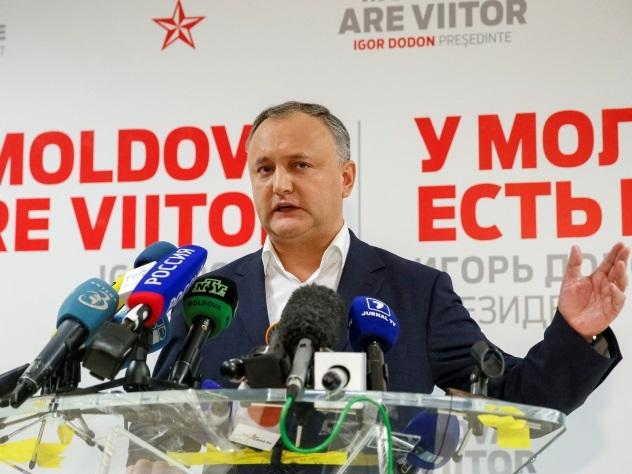 Глава социалистов объявил о своей победе на выборах в Молдавии