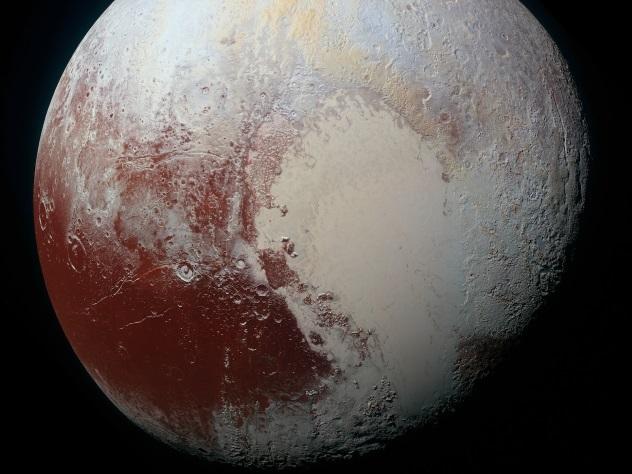 Под сердцем Плутона скрывается океан