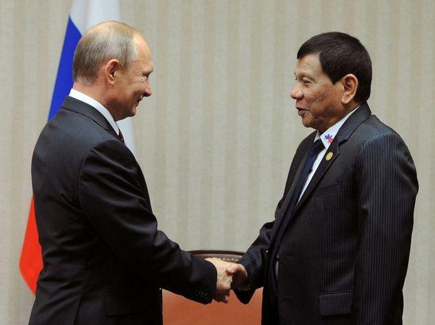 Президент Филиппин очень ждал встречи сПутиным