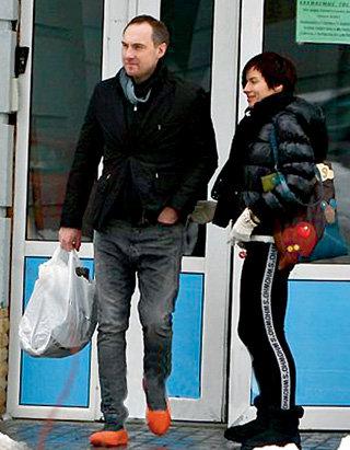 Надежда ГРАНОВСКАЯ с женихом-бизнесменом Михаилом УРЖУМЦЕВЫМ (фото blik.ua)