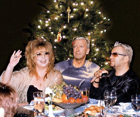 Пугачева галкин на новый год