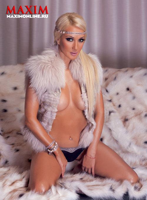 Лера КУДРЯВЦЕВА в журнале Maxim