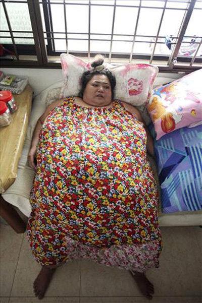 Чинг Ига Фонг весила 230 кг